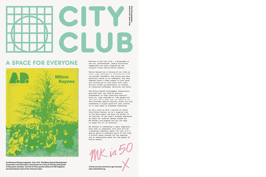 City Club newspaper issue three